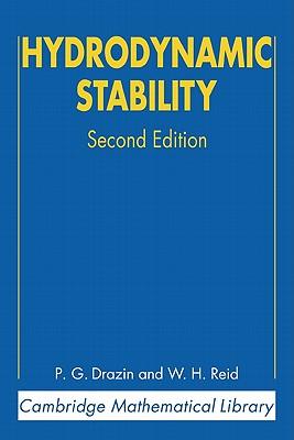 Hydrodynamic Stability - Drazin, P G