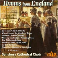 Hymns from England - Alyusha Chagrin (soprano); David Halls (organ); Hugh Heatherington (tenor); John Robinson (bass); Rowan Wright (flute);...