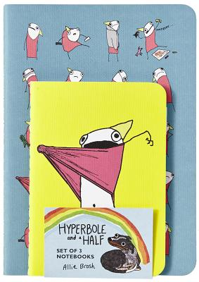 Hyperbole and a Half Notebooks (Set of 3) - Brosh, Allie