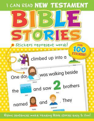 I Can Read New Testament Bible Stories - Mitzo Thompson, Kim