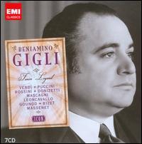 Icon: Beniamino Gigli - Adelio Zagonara (vocals); Afro Poli (vocals); Amelita Galli-Curci (soprano); Angelo Bada (tenor); Beniamino Gigli (tenor);...