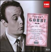 Icon: Tito Gobbi - Adelio Zagonara (vocals); Alfredo Mariotti (vocals); Angelo Mercuriali (tenor); Anna Maria Canali (vocals);...