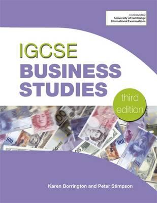 IGCSE Business Studies - Stimpson, Peter, and Borrington, Karen