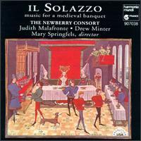 Il Solazzo: Music for a Medieval Banquet - David Douglass (viola da gamba); Drew Minter (vocals); Judith Malafronte (mezzo-soprano); Kevin Mason (lute); Mary Springfels (viola da gamba); Newberry Consort