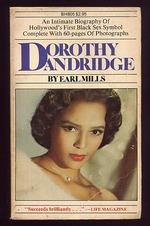 Dorothy Dandridge a Portrait in Black