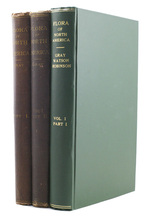Synoptical Flora of North America, Volume 1, Part 1 and 2, Volume 2, Part 1 (in 3 Volumes).