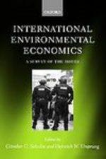 International Environmental Economics: a Survey of the Issues