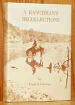 A Ranchman's Recollections