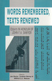 Words Remembered, Texts Renewed: Essays in Honour of John F. A. Sawyer (JSOT Supplement Ser., No. 195),