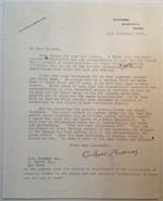 Extraordinary Content Typed Letter Signed