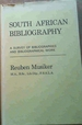 South African Bibliography: a Survey of Bibliographies and Bibliographical Work