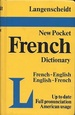 Langenscheidt's Pocket French Dictionary: French-English English-French