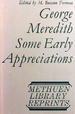 George Meredith Some Early Appreciations