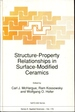Structure-Property Relationships in Surface-Modified Ceramics (Nato Science Series E: )