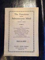 The Functions of the Subconscious Mind