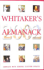 Whitaker's Almanack 2002 134th Annual Edition. Standard Edition