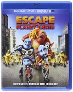 Escape from Planet Earth [Includes Digital Copy] [Blu-ray/DVD]