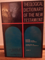 Theological Dictionary of the New Testament, volume 9.