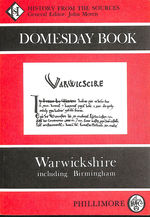 The Domesday Book: Warwickshire (Domesday Books (Phillimore))