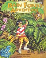 Steck-Vaughn Pair-It Books Early Fluency Stage 3: Student Reader Rain Forest Adventure, Story Book