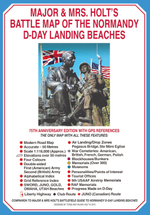 Major & Mrs Holt's Battle Map of the Normandy D-Day Landing Beaches (Major and Mrs Holt's Battlefield Guides)