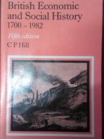 British Economic and Social History, 1700-1982