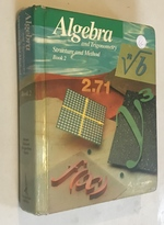 Algebra and Trigonometry Structure and Method, Book 2
