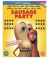 Sausage Party [Blu-Ray] [2016] [Region Free]