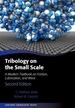Tribology on the Small Scale