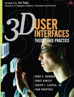 3d User Interfaces: Theory and Practice (Paperback), Paperback, 1st Edition