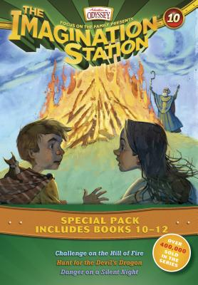 Imagination Station Books 3-Pack: Challenge on the Hill of Fire / Hunt for the Devil's Dragon / Danger on a Silent Night - Hering, Marianne, and Younger, Marshal, and Batson, Wayne Thomas