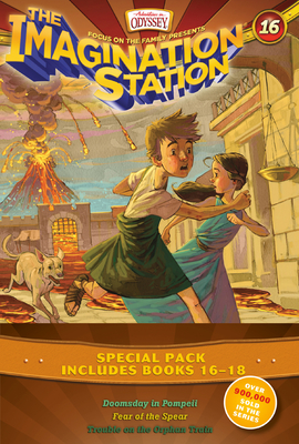 Imagination Station Books 3-Pack: Doomsday in Pompeii / In Fear of the Spear / Trouble on the Orphan Train - Hering, Marianne, and McCusker, Paul