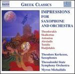 Impressions for Saxophone and Orchestra