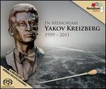 In Memoriam: Yakov Kreizberg, 1959-2011