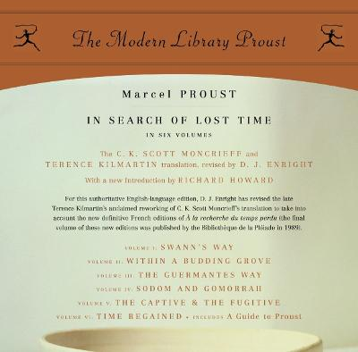 In Search of Lost Time - Proust, Marcel, and Moncrieff, C K Scott (Translated by), and Kilmartin, Terence (Translated by)