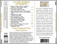 In the World of the Spirits: Christmas Classics for Wind Band - Emory Symphonic Winds; Scott A. Stewart (conductor)