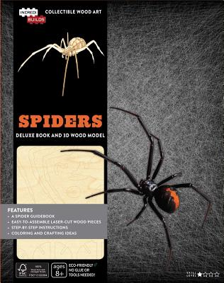 Incredibuilds: Spiders Deluxe Book and Model Set - Insight Editions