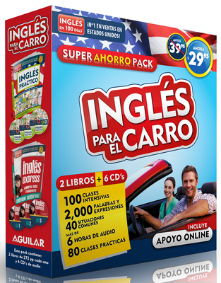 Inglas Para El Carro - Audiopack (2 Paperback Books ] 6cds) / English in the Car ? Ahorropack - Aguilar, Aguilar