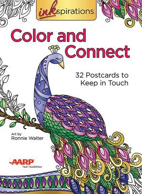 Inkspirations Color and Connect: 32 Postcards to Keep in Touch -