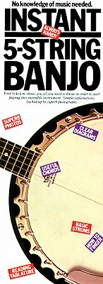 Instant 5-String Banjo: Compact Reference Library - Sokolow, Fred