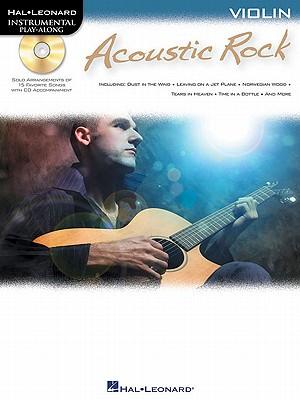 Instrumental Play-Along: Acoustic Rock (Violin) -