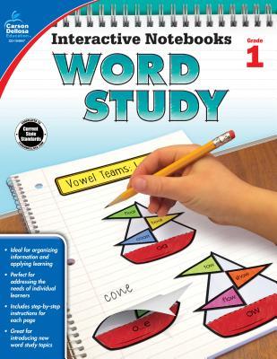Interactive Notebooks Word Study, Grade 1 - Carson-Dellosa Publishing