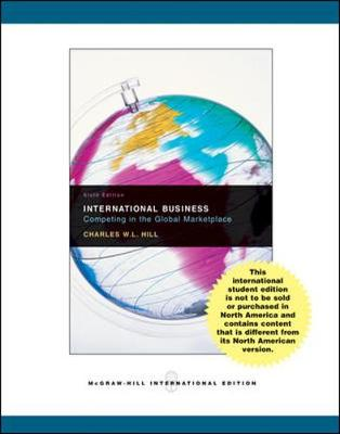 International Business with Online Learning Center access card - Hill, Charles W. L.
