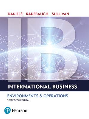 International Business - Daniels, John, and Radebaugh, Lee H., and Sullivan, Daniel