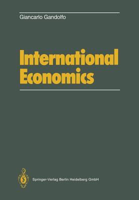 International Economics - Gandolfo, G