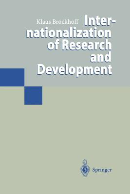 Internationalization of Research and Development - Brockhoff, Klaus