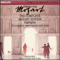 Introducing the Complete Mozart Edition (Highlights) - Various Artists