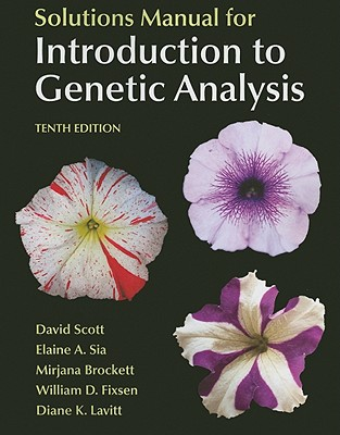 Introduction to Genetic Analysis, Solutions Manual - Griffiths, Anthony J F, and Wessler, Susan R, and Carroll, Sean B