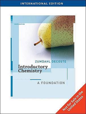 Introductory Chemistry: A Foundation - Zumdahl, Steven S., and DeCoste, Donald J.