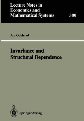 Invariance and Structural Dependence - Odelstad, Jan